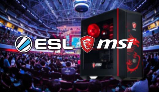 【eスポーツ】Eスポーツ運営会社ESLがMSIとオフィシャルパートナー提携の延長発表