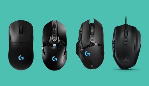 【ロジクール】ドライバー「Ghub」の使い方とプロゲーマーのマウス設定一覧
