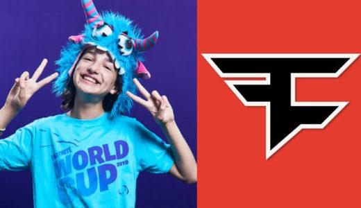 【eスポーツ】衝撃の展開!13歳の女性フォートナイトプレイヤー「Ewok」がFazeClanに加入!