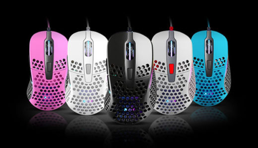 【Xtrfy】重量65gの最軽量クラスゲーミングマウス「Xtrfy M4」を今秋国内発売
