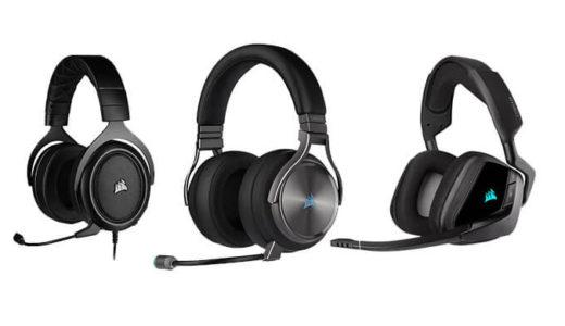 【Corsair】ワイヤレス対応などゲーミングヘッドセット8シリーズ15製品を10月26日に国内発売決定