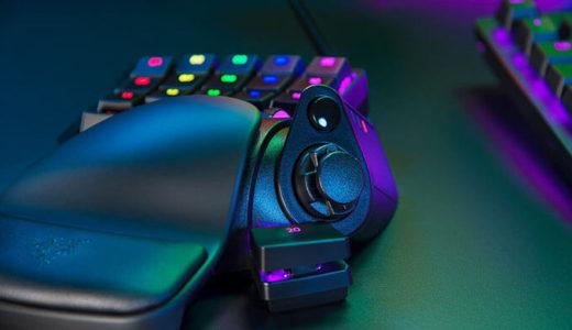 【Razer】アナログ光学スイッチを搭載左手用ゲームキーパッド「Tartarus Pro」日本で10月31日先行発売