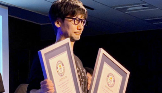 【World Strand Tour 2019 TOKYO】ゲームクリエイターの小島秀夫監督TwitterとInstagramフォロワー数ギネス世界記録で表彰!