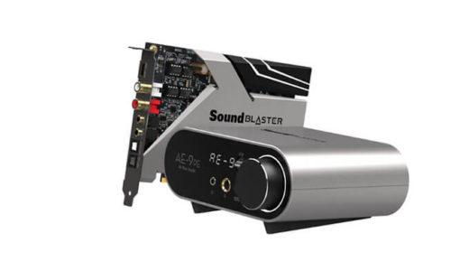【Creative】再生専用モデル「Sound Blaster AE-9 Playback Edition」を12月下旬数量限定発売発表