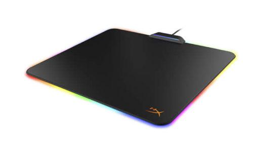 【HyperX】ブランド初となるカラーLED搭載ゲーミングマウスパッド『HyperX FURY Ultra』を12月9日国内発売