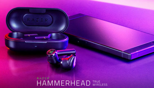 【Razer】IPX4の防水ワイヤレスゲーミングイヤフォン「Razer Hammerhead True Wireless」を12月20日発売