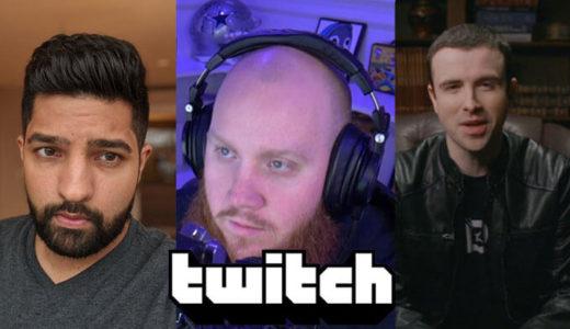 【Twitch】人気ストリーマー「LIRIK」「TimTheTatman」「DrLupo」とTwitchとの契約を発表
