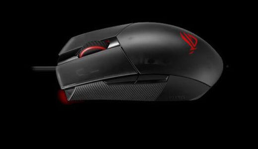 【ASUS】左右対称軽量79gゲーミングマウス「ROG Strix Impact II」発売2月28日発売