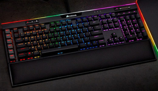 【Corsair】Cherry MX Speed RGBキースイッチ採用『K95 RGB PLATINUM XT SPEED』2月22日発売