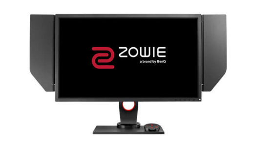 【ZOWIE】BenQ初の応答速度0.5ms/240Hz対応ゲーミングモニター『XL2746S』3月27日より発売