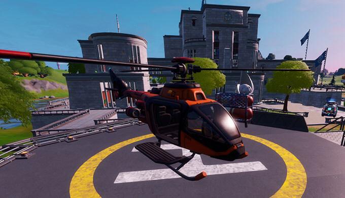 ヘリコプター フォート ナイト