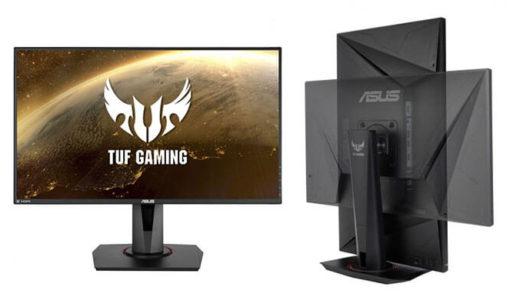 【ASUS】世界最速280Hz/1msのIPSパネル27型ゲーミングモニタ「TUF GAMING VG279QM」4月24日発売