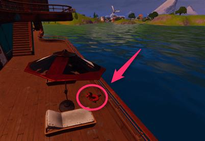 フォートナイトデットプールの浮き輪