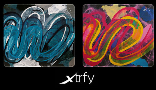 【Xtrfy】表現力豊かなデザイン 5 種類のマウスパッド「GP4」8/28(金)国内発売