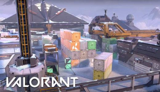 【Valorant(ヴァロラント)】ACT3で新マップ『アイスボックス』登場を発表