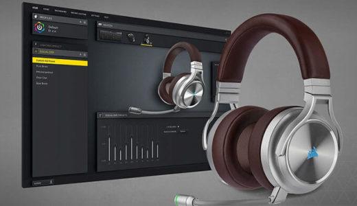 【CORSAIR】ハイレゾ対応、ワイヤレスゲーミングヘッドセット「Virtuoso RGB Wireless SE Espresso」発表