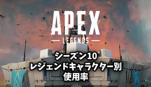 【Apex(エーペックス)】一番人気レジェンドキャラクターは誰だ!各レジェンド使用率まとめ